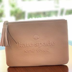 Kate Spade ♠️ Large Tassel Pouch